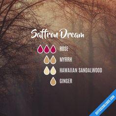Saffron Dream - Essential Oil Diffuser Blend