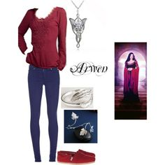 I LOVE THIS! A modern Arwen for people like me! ^^