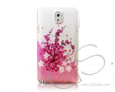 3D Raindrop Series Samsung Galaxy Note 3 Case N9000 - Peach