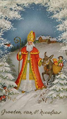 Noel Christmas, Father Christmas, Christmas Images, Vintage Christmas, Christmas Cards, Xmas, Vintage Postcards, Vintage Images, All Holidays