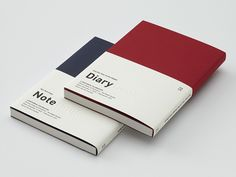 Xue Xue Institute Diary/Notebook by Wang Zhi-Hong Studio, via Behance