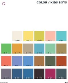 Lenzing Color Trends: Spring/Summer 2014