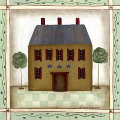 Gold House (Valorie Evers Wenk)