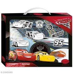 Compra nuestros productos a precios mini Kit Sello Disney Infantil - Cars 3 - 6 uds - Entrega rápida, gratuita a partir de 89 € !