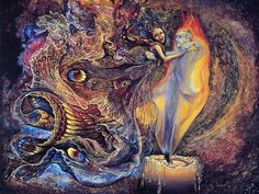 JOSEPHINE WALL moth and flame
