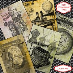 Hey, I found this really awesome Etsy listing at https://www.etsy.com/listing/100907513/steampunk-vintage-tags-atc-aceo-digital