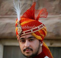 Groom turban  www.rishabhsafa.com jodhpuri saffa