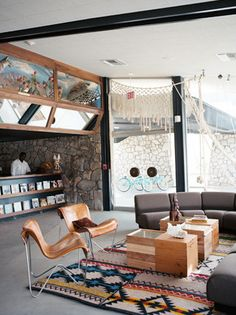 {rug} Charlotte Minty Interior Design: Ace Hotel at Palm Springs