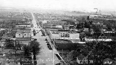 Main Street, Susanville 1927. South Dakota Travel, Nebraska, Oklahoma, Storm Clouds, Extreme Weather, Old Pictures, Main Street, Paris Skyline, Travel Photography
