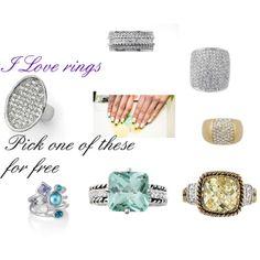 """I love rings"" www.facebook.com/TracysBlingliastyle www.liasophia.com/twl"