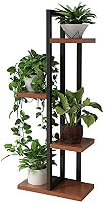 Metal Plant Stand, Wooden Plant Stands, Diy Plant Stand, Tiered Plant Stand Indoor, Indoor Flower Pots, Outdoor Flowers, Indoor Plants, Indoor Herbs, Indoor Gardening