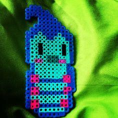 Caterpillar Alice In Wonderland perler beads by katiekat_pdx