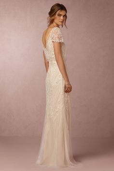 BHLDN Aurora Gown in Bride Wedding Dresses at BHLDN