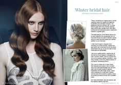 Winter bridal hair with Electric Hairdressing London - Discover the full feature for free on Issuu: http://issuu.com/ultimateweddingmagazine/docs/ultimate_wedding_magazine_autumn_wi