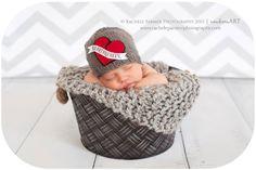 Mommy's Heartbreaker  Newborn/Baby Valentine by YarnOverCrochet