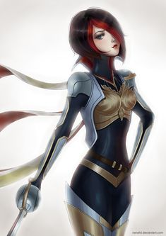 League of Legends: Fiora by Nanahii.deviantart.com on @deviantART