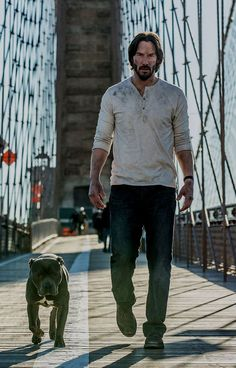 Keanu Reeves returns as John Wick Keanu Reeves John Wick, Keanu Charles Reeves, John Wick Film, Keanu Reaves, National Puppy Day, Baba Yaga, Movie Wallpapers, Film Serie, Pitbull Terrier