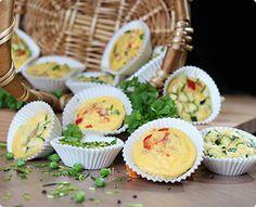 Rezept: Herzhafte Muffins mit Rührei