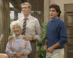 George Clooney on The Golden Girls, 1987