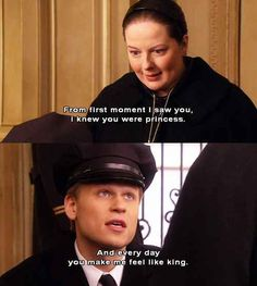 Dorota, Gossip Girl! She had the cutest and most romantic relationship with Vanya…