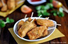 Bastoncini di pollo al forno
