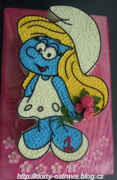 Smurfette on Cake Central