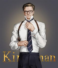 Kingsman by JaneMere. Gary Unwin, Kingsman Harry, Kingsman Movie, Kingsman The Golden Circle, Kingsman The Secret Service, The Man From Uncle, Kings Man, Taron Egerton, Colin Firth