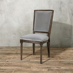 Captivating Adele Dining Side Chair In Smoke And Cinder
