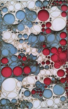 No son círculos son presencias de algo moviéndose a una distancia constante…