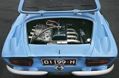 Alpine-Renault A110 - with Renault 16 TS engine.