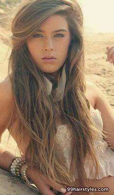 cute summer dark blonde hairstyle - 99 Hairstyles Ideas
