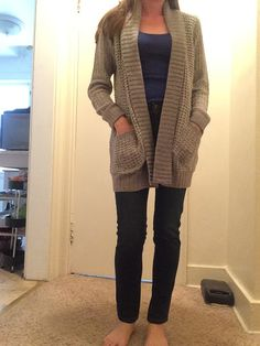 RD Style Colton Marled Knit Cardigan. Would love to receive this exact piece in grey or even an oatmeal color!