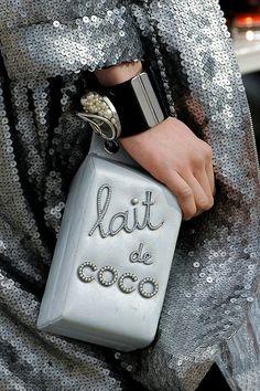 Cute Little Shopping Baskets | Chanel | Fall 2014 Ready-to-Wear