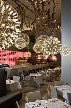 Aria restaurant by Urszula Tokarska Stephen R. Pile Architect, Toronto by beatrice