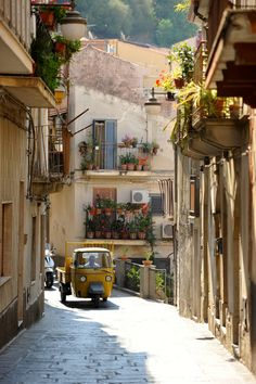 """Italy Love ~ Quaint balconies, windows, streets."""