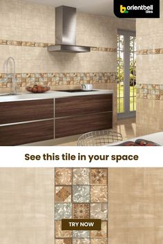 Your kitchen deserve some decor glory and nothing is better than opting for creative and modern tile styles that'll elevate the look of not only your kitchen, but your entire home. See the tile in your space with the Trialook visualiser tool. #kitchentiles #kitchendecor #trendingdecor #tiletrends #interiordesign #homeredecor