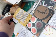 Barb Novak - love the flap w/journaling!