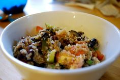 Quinoa and blackbeans
