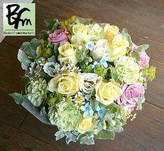 花ギフトのプレゼント【BFM】   癒される花   そんなフラワーアレンジメント
