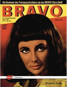Elizabeth Taylor - Bravo Magazine [Germany] (5 May 1962) Elizabeth Taylor, Golden Age Of Hollywood, Old Hollywood, Brave, When I Was Born, John Glenn, Foreign Movies, Star Wars, Civil Rights Activists