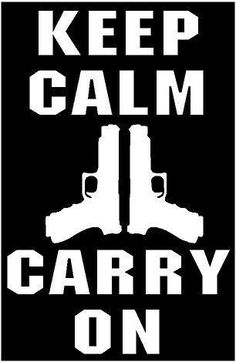 WHITE Vinyl Decal Keep Calm carry on gun owner victim hunt country truck sticker Cricut Vinyl, Vinyl Decals, Wall Vinyl, Car Decals, Wall Art, Stencil Designs, Vinyl Designs, Truck Stickers, Wall Stickers