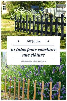 Ideas to build a garden fence / diy fence garden. Farm Gardens, Outdoor Gardens, Diy Jardin, Diy Garden Fence, Garden Ideas, Diy Projects For Beginners, Diy Chicken Coop, Real Plants, Backyard