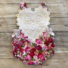 US Stock Newborn Infant Baby Girl Bodysuit Floral Romper Jumpsuit Outfit Clothes  | eBay