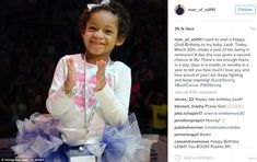Devon posted a picture of his daughter on Instagram, celebrating the anniversary of her da...