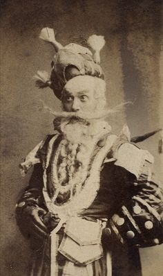 elysskama:    Lionel Brough Guy Little Theatrical PhotographsLondon Stereoscopic Company19th Century