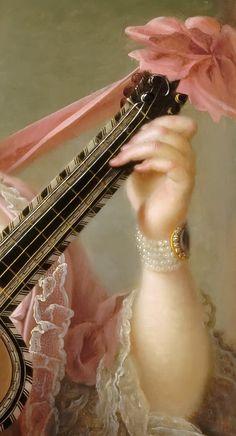 ♔ François Hubert Drouais ~ Marie-Clotilde ~ Xaviere of France, called Madame Clotilde ~ Queen of Sardinia (1759-1802)