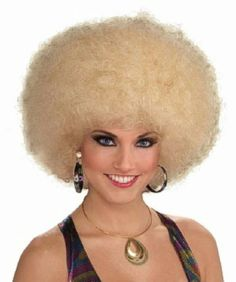 Mixed-Blonde-Deluxe-Afro-Wig