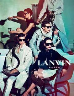 Lanvin campaign is awesome