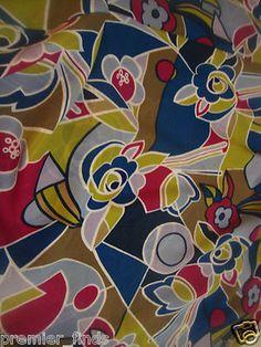 """Women's Plus Size Skirt Floral Geometric Shapes Bright Colors Size 42""""  $20"""