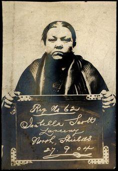 : Isabella Scott Arrested for: Larceny : North Shields on: 27 September 1904